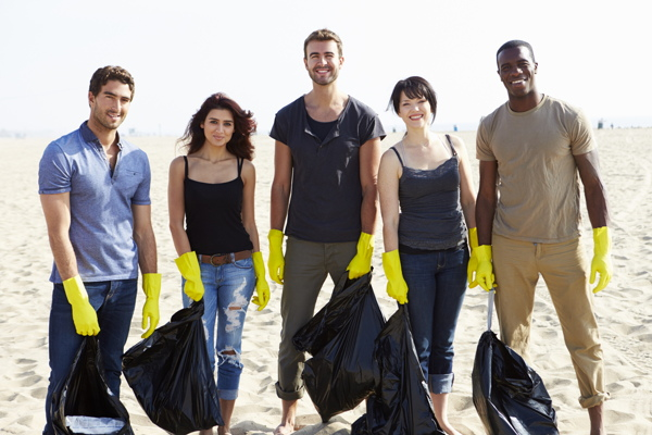 community clean-up projects
