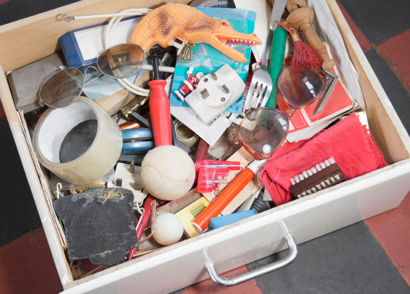 Disorganised drawer