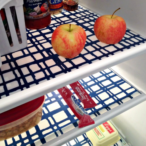 make your own fridge mats