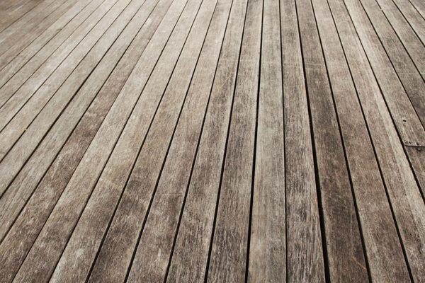 wooden decking